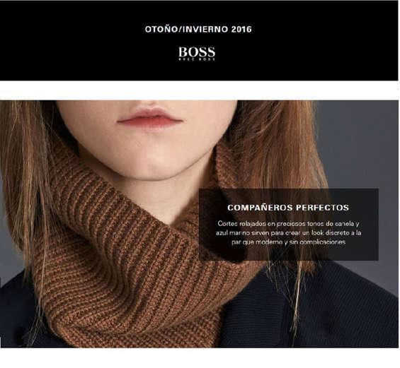 Ofertas de Hugo Boss, Mujer Otoño-Invierno 2016