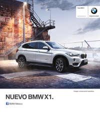 Ficha Técnica BMW X1 sDrive18iA Automático 2017