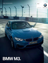 Ficha Técnica BMW M3 Sedán manual 2017