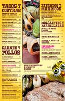Ofertas de La Chilanguita, Menú Alimentos