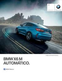 Ficha Técnica BMW X6 M Automático 2017