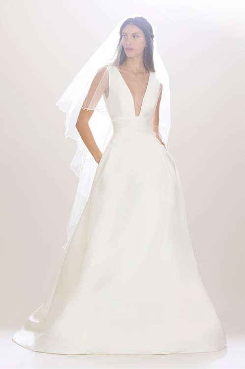 Ofertas de Carolina Herrera, Bridal Fall 2016