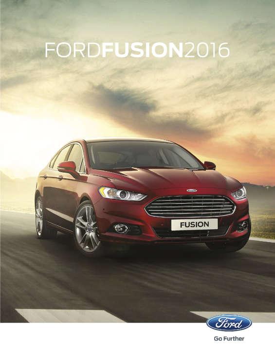 Ofertas de Ford, Fusion 2016