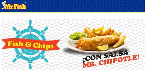 Ofertas de Mr. Fish, Menú