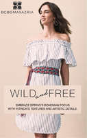 Ofertas de BCBGMAXAZRIA, Wild and Free