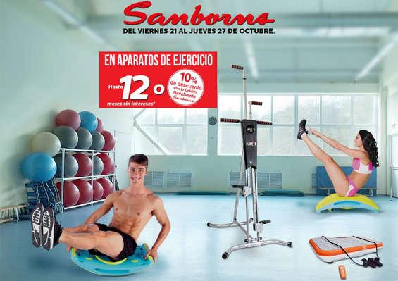Ofertas de Sanborns, Aparatos de ejercicio