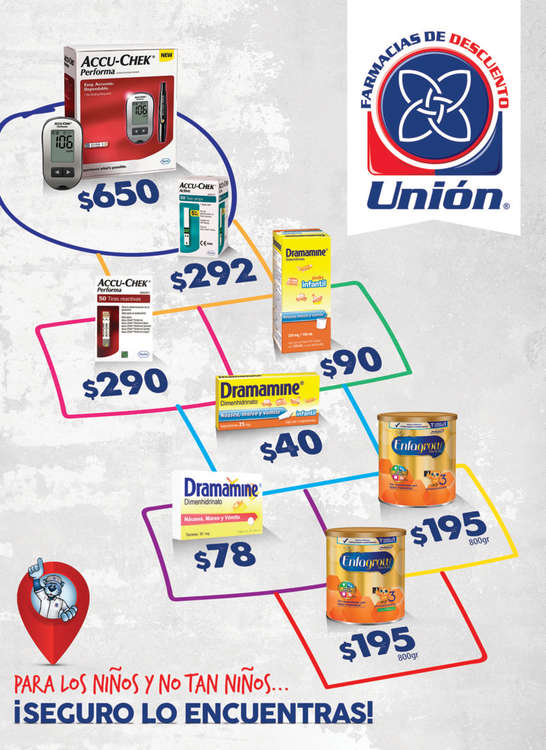 Ofertas de Farmacias Unión, Folleto Abril