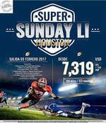 Ofertas de Excel Tours, Super Sunday