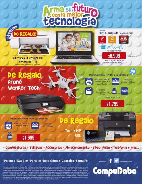 Ofertas de CompuDabo, Arma su futuro con la mejor tecnología