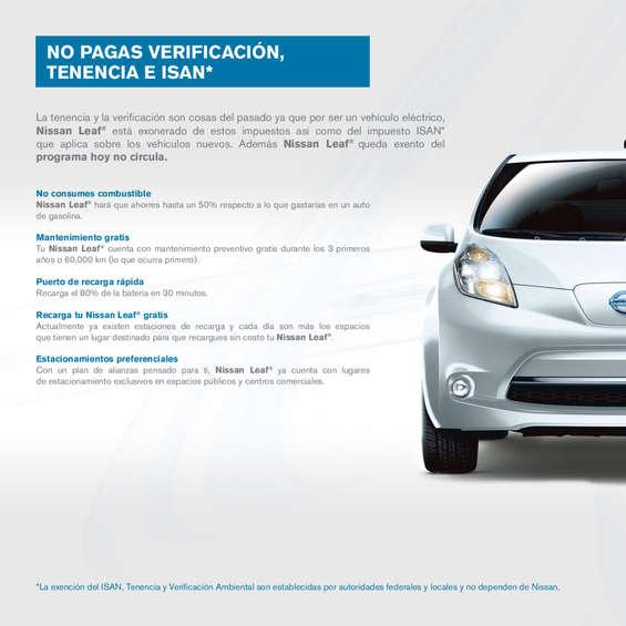 Ofertas de Nissan, Leaf