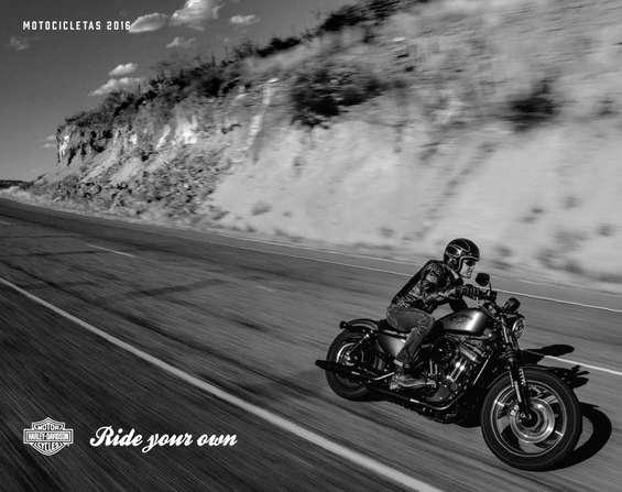 Ofertas de Harley Davidson, Motocicletas 2016