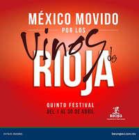 México movido por los vinos de rioja