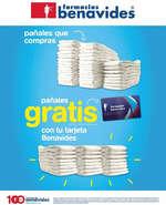 Ofertas de Farmacias Benavides, Pañales gratis