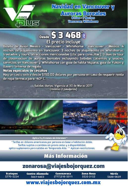 Ofertas de Viajes Bojorquez, Viaje Vancouver