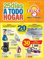 Ofertas de Del Sol, 25 días a todo hogar