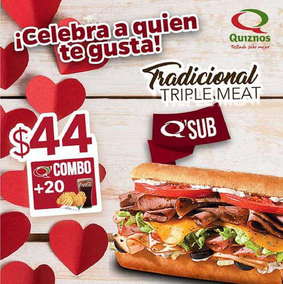 Ofertas de Quiznos Sub, ¡Celebra a quien te gusta!