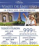 Ofertas de Mega Travel, Viajes de ensueño