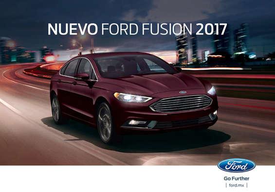 Ofertas de Ford, Fusion 2017