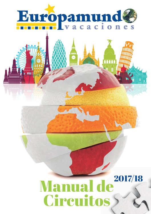 Ofertas de Euromundo, Manual de Circuitos 2017