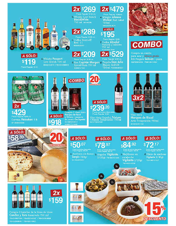 Ofertas de City Club, Abril 2017