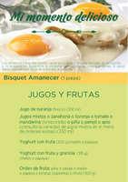 Ofertas de Los Bisquets Bisquets Obregón, Menú