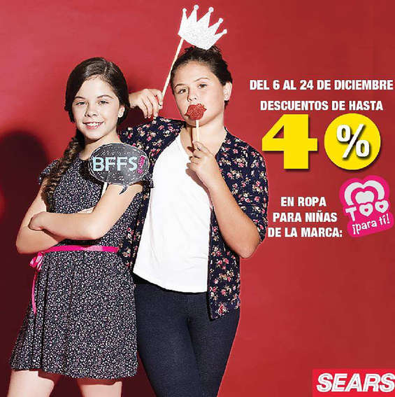 Ofertas de Sears, Niñas