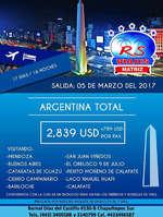 Ofertas de RS Viajes, Argentina Total