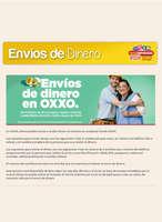 Ofertas de OXXO, Envíos de dinero