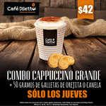 Ofertas de Diletto, Dos cafés por $40