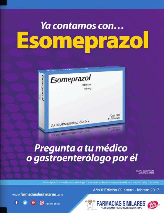 Ofertas de Farmacias Similares, Folleto Bimestral