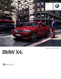 Ficha Técnica BMW X4 xDrive28iA X Line Automático 2017