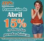 Ofertas de Tintorerías Max, Abril