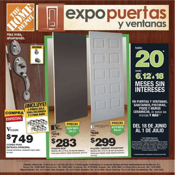 Home Depot Mexico Catalogo