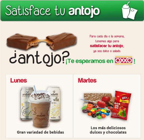 Ofertas de OXXO, Satisface tu antojo