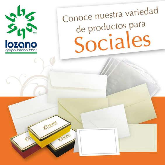 Ofertas de Lozano, Lozano