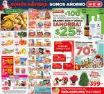 Ofertas de H-E-B, Somos Navidad, somos ahorro