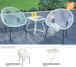 Ofertas de The Home Depot, Catálogo decorativo patio y jardín