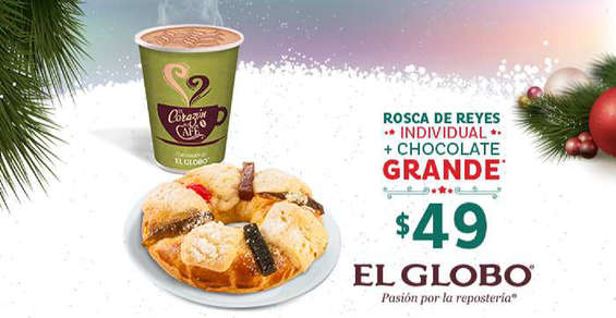 Ofertas de El Globo, Roscas de reyes