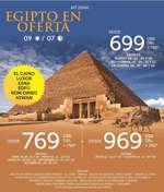 Ofertas de Mega Travel, Egipto en Oferta