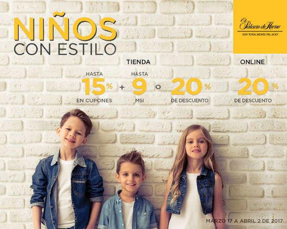 Ofertas de Palacio de Hierro, Niños con estilo