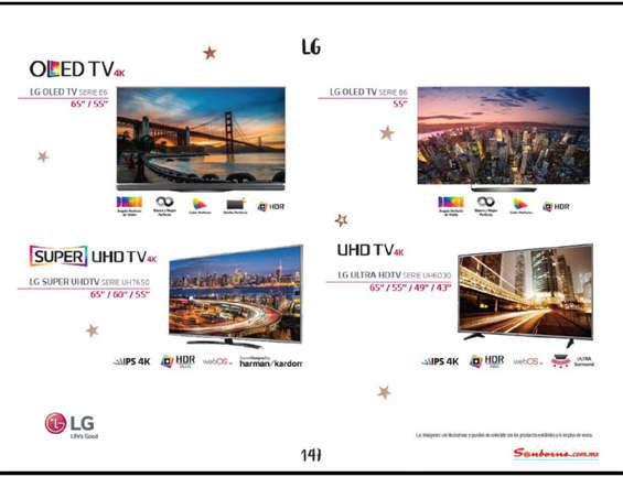 Televisor lg en torre n cat logos ofertas y tiendas for Sanborns azulejos horario