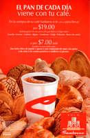 Ofertas de Sanborns, El pan de cada día viene con tu café