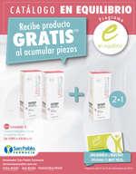 Ofertas de Farmacia San Pablo, Catálogo en equilibrio
