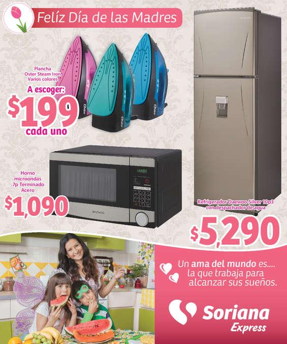 Ofertas de Soriana Express, Día de las madres