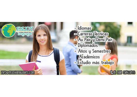 Ofertas de Enjoy Languages, Idiomas, Carreras Técnicas, Diplomados...