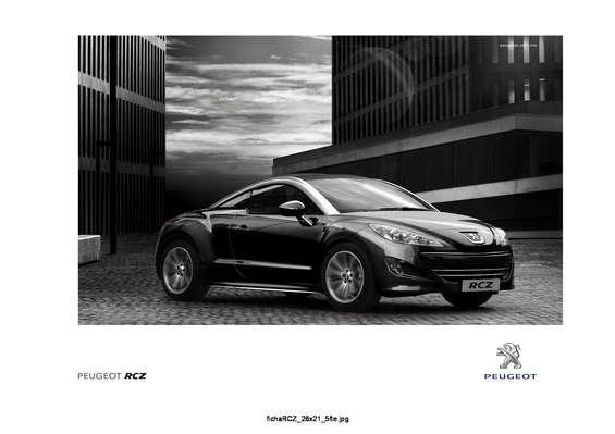 Ofertas de Peugeot, RCZ