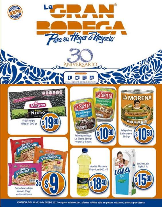 Ofertas de La Gran Bodega, Catálogo quincenal