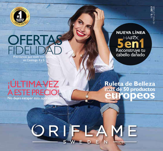 Ofertas de Oriflame, Ofertas fidelidad