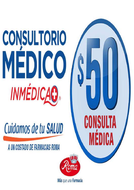 Ofertas de Farmacias Roma, Consultorio Médico