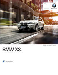 Ficha Técnica BMW X3 xDrive28iA X Line Automático 2017
